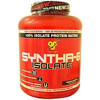 BSN, Изолят Syntha-6, протеиновая смесь для приготовления напитков, шоколадный молочный коктейль, 4,01 фунта (1,82 кг)
