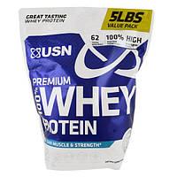 USN, 100% премиальный сывороточный протеин, со вкусом WheyTella, 5 фунтов (2,27 кг)