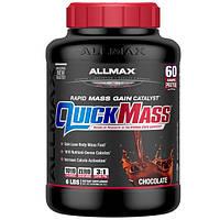 ALLMAX Nutrition, QuickMass, Weight Gainer, Rapid Mass Gain Catalyst, Chocolate, 6 lbs (2.72 kg)