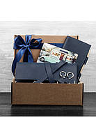 Кожаные аксессуары BlankNote BN-set-travel-8  Синий
