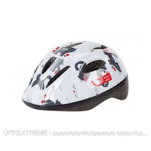 Шлем детский Green Cycle KITTY размер 50-54см белый (ОРИГИНАЛ)