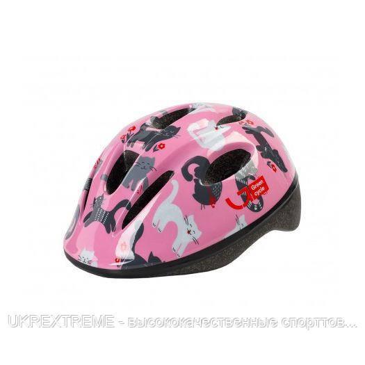 Шлем детский Green Cycle KITTY размер 50-54см розовый (ОРИГИНАЛ)