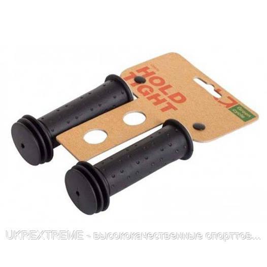 Грипсы Green Cycle GC-G96 102mm, детские, черные (ОРИГИНАЛ)