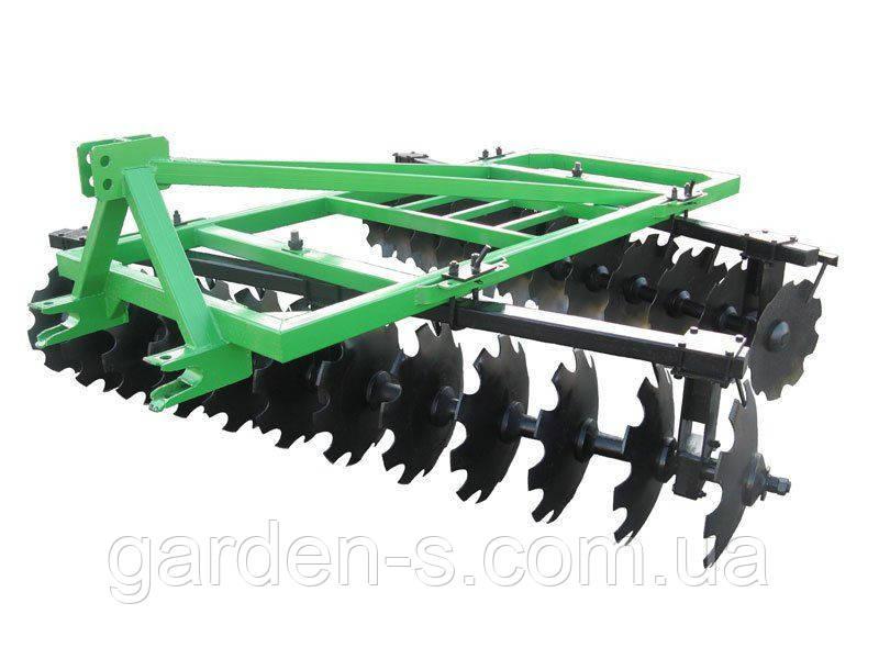 Бороны тракторные дисковые Bomet 2,7 м. 2 секции БЕЗ  КАТКА