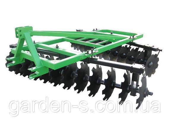 Бороны тракторные дисковые Bomet 2,7 м. 2 секции БЕЗ  КАТКА, фото 2