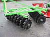 Бороны тракторные дисковые Bomet 2,7 м. 2 секции БЕЗ  КАТКА, фото 3