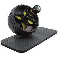 Sports Research, Гимнастическое колесо АБ + Подкладка для Коленей
