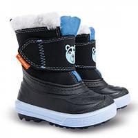 Зимові чобітки (зимние дутики) Demar Bear синій
