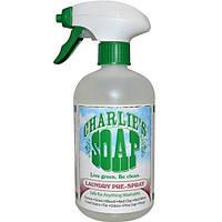 Charlies Soap, Inc., Спрей-пятновыводитель для нанесения перед стиркой, 16.9 жидких унций (500 мл)
