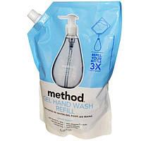 Method, Гель-мыло для рук в экономичной упаковке, сладкая водв, 34 жидких унции (1 л)