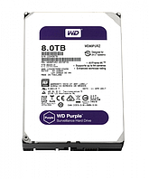 "Жесткий диск HDD 3.5"" WD Purple 8TB, 5400 об/мин, S-ATA III, 600 MB/с, кэш-память 128 MB"