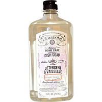J R Watkins, Натуральный уход за домом, средство для мытья посуды с лавандой, 24 жидкие унции (710 мл)