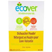 Ecover, Порошок для посудомоечной машины с цитрусовым ароматом, 48 унций (1,36 кг)