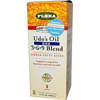 Flora, Смесь из Омега 369 жирных кислот, 17 жидких унций (500 мл)