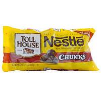 Nestle Toll House, Кусочки, Настоящий полугорький шоколад, 11,5 унций (326 г)