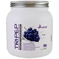 Metabolic Nutrition, Tri-Pep, аминокислота с разветвленной цепью, виноград, 400 г