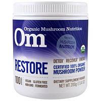 Organic Mushroom Nutrition, Восстановление, грибной порошок, 7.14 унций (200 г)