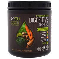 SoTru, Ферментированный продукт, зелень для пищеварения, 6,34 унции (180 г)