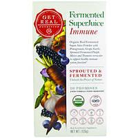 Get Real Nutrition, Пастеризованный суперсок - иммунитет, 120 г