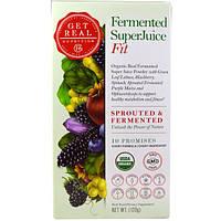 Get Real Nutrition, Пастеризованный суперсок - физическая форма, 120 г