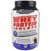 Bluebonnet Nutrition, Extreme Edge, 100%-ный чистый изолят сывороточного белка, со вкусом печенья и сливок, 952 г (2 lbs)