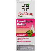 Similasan, Средство против изжоги, активные ингредиенты чилибухи аптечной, 60 растворимых таблеток