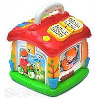 Развивающая музыкальная игрушка Теремок 9149, интерактивный говорящий домик 9149 Joy Toy