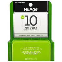 Hylands, NuAge, № 10 Nat Phos (фосфат натрия), 125 таблеток