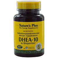 Natures Plus, DHEA-10 With Bioperine, 90 Veggie Caps