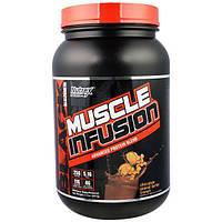 Nutrex Research Labs, Инфузия для мышц, передовой белковый коктейль со вкусом хрустящей шоколадно-арахисовой пасты, 2 фунта (907 г)