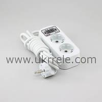 Устройство защиты электроприборов, защита от скачков напряжения, защита от перепадов напряжения (16А/3кВт)