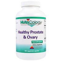 Nutricology, Для здоровья простаты и яичников, 180 капсул на растительной основе