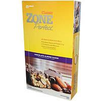 ZonePerfect, Classic, Натуральные Питательные Батончики, Шоколад-Миндаль-Изюм 12 батончиков, 1.76 унции (50 г) каждый