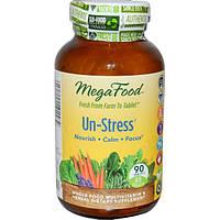 MegaFood, Пищевая добавка Снятие стресса, 90 таблеток