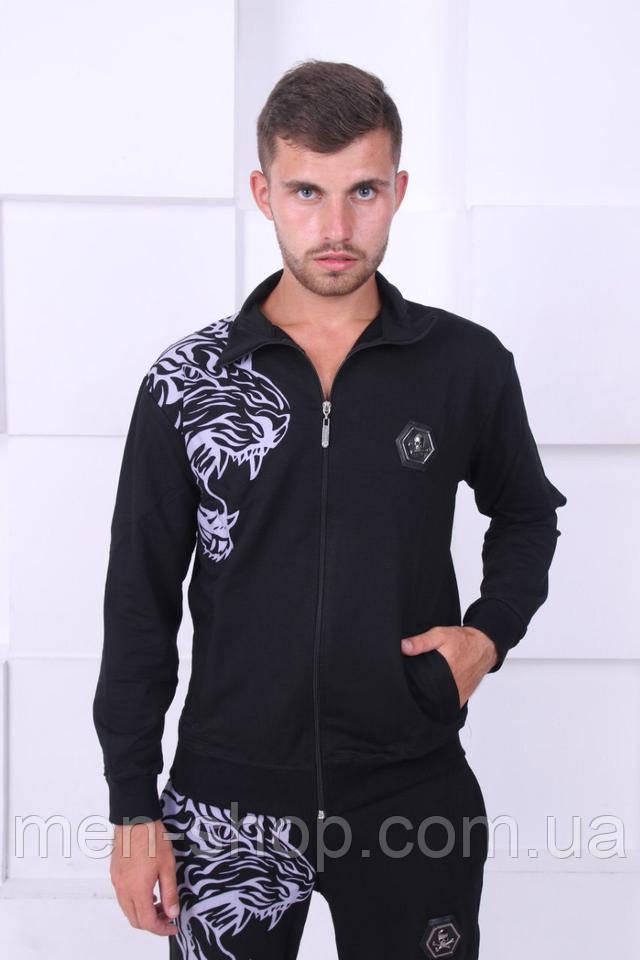 00af979f Спортивный темный костюм, мужской в стиле Philipp Plein M, цена 1 ...