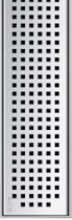 Решетка Квадрат ACO ShowerDrain E-Line 900 мм