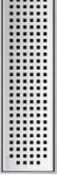 Решетка Квадрат ACO ShowerDrain E-Line 1000 мм, фото 1