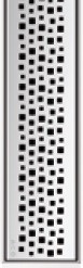 Решетка Пиксель ACO ShowerDrain E-Line 700 мм