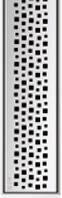 Решетка Пиксель ACO ShowerDrain E-Line 1000 мм, фото 1