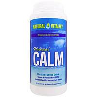 Natural Vitality, Natural Calm, антистрессовый напиток, оригинальный (неароматизированный), 16 унций (453 г)