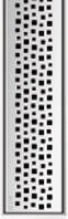 Решетка Пиксель ACO ShowerDrain E-Line 1200 мм, фото 1