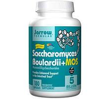 Jarrow Formulas, Сахаромицеты Буларди + МОС, 180 овощных капсул
