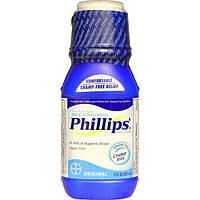 Phillips, Настоящее молоко магнезии, оригинальное, 12 жидких унций (355 мл)