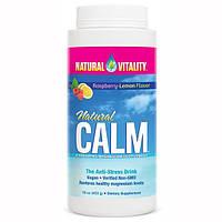 Natural Vitality, Натуральное успокоительное, напиток анти-стресс, со вкусом малины-лимона, 16 унций (453 г)