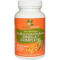SeaBuckWonders, Масло облепихи крушиновидной, Omega-7 Complete, 500 мг, 120 мягких капсул