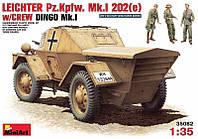 1:35 Сборная модель бронеавтомобиля Pz.Kpfw. Mk.I 202 (e), MiniArt 35082