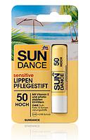 SUNDANCE Lippenpflegestift sensitive LSF 50 -  Солнцезащитный бальзам для чувствительных губ  LSF 50, 4,8 г