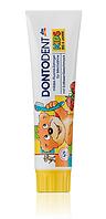 DONTODENT Kids Zahncreme - Детская зубная паста с фтором и вкусом клубники до 6 лет 100 мл