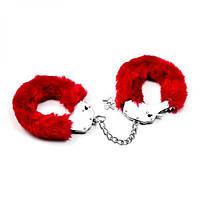 Пушистые наручники для удоволствия