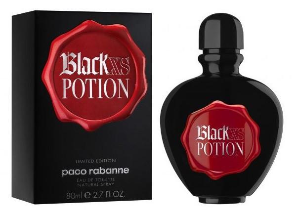 Paco Rabanne Black XS Potion for Her туалетная вода 80 ml. (Пако Рабан Блэк Икс Потион Фо Хе)